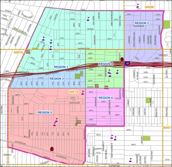UNNC Boundary Map