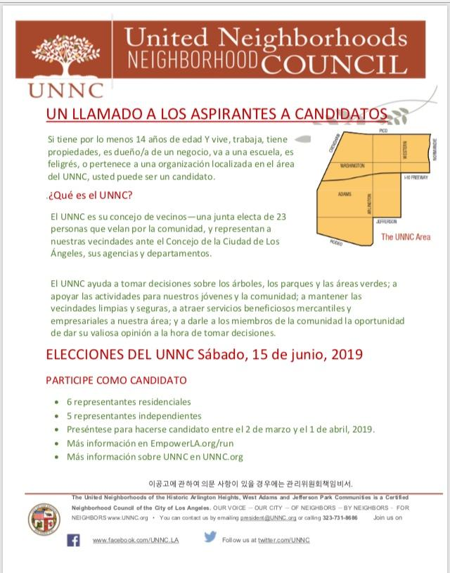Call for candidates-Spanish