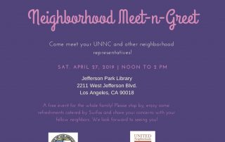Meet & Greet in Jefferson Park