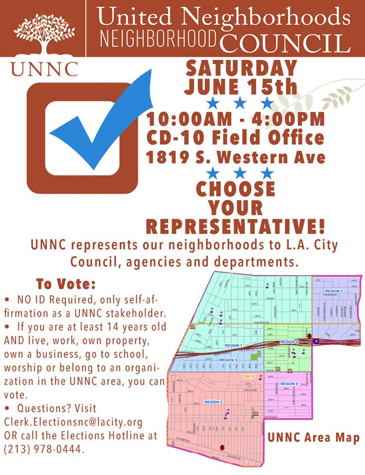 Vote in UNNC Elections