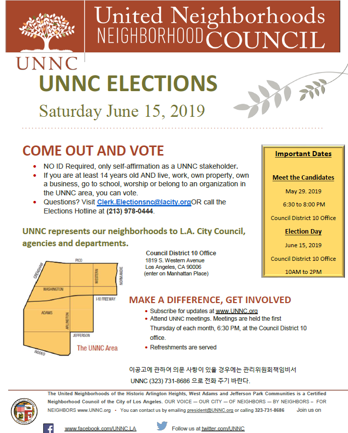 UNNC Elections
