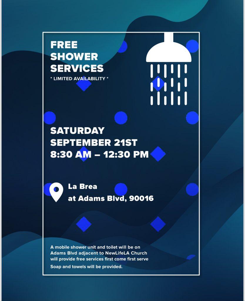 Free shower day